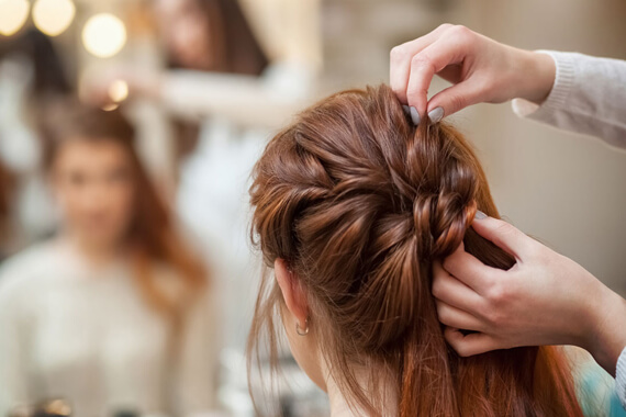Celebrity Hair Styling